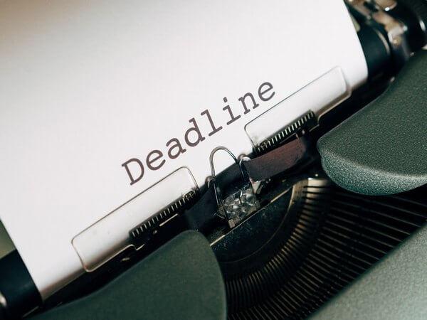 2290 Deadline Approaching